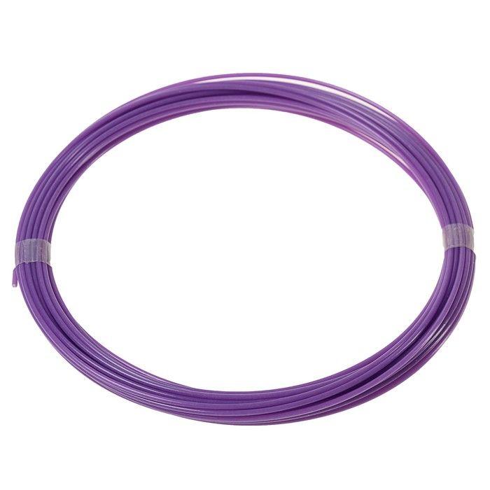 Пластик LuazON ABS, для 3Д ручки, длина 10 м, фиолетовый