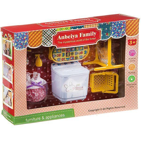 Игровой набор Happy Family с фигуркой зверюшки, домохозяйка