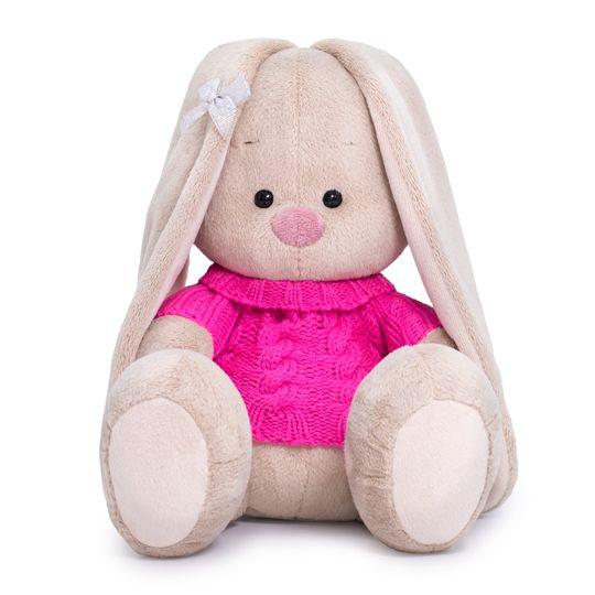 """Мягкая игрушка """"Зайка Ми в розовом свитере"""", 23 см"""