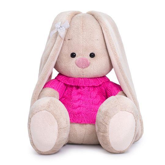 """Мягкая игрушка """"Зайка Ми в розовом свитере"""", 18 см"""