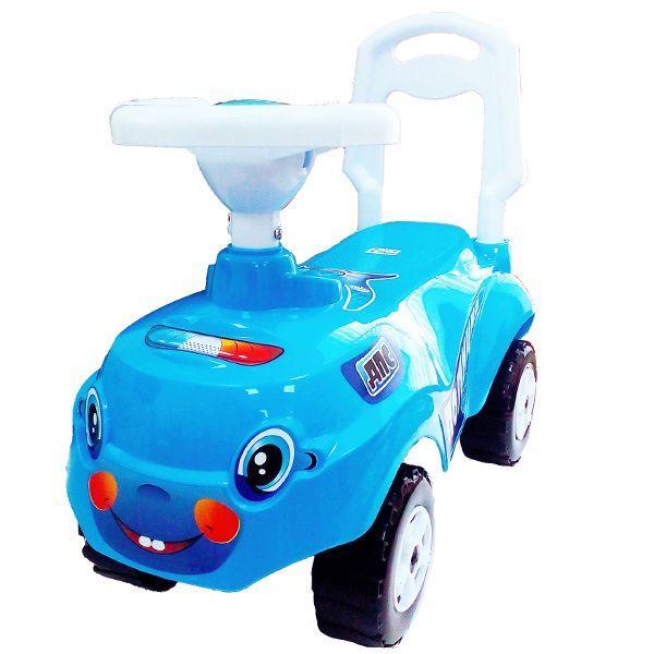 """Машинка-каталка """"Микрокар"""" - Полиция, синияя"""