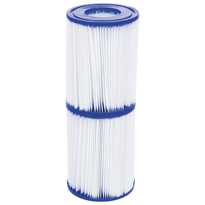 Набор из 2 картриджей типа «II», 10,6 х 13,6 см, для фильтр-насосов 58117, 58148, 58383, 58386, 58094 Bestway
