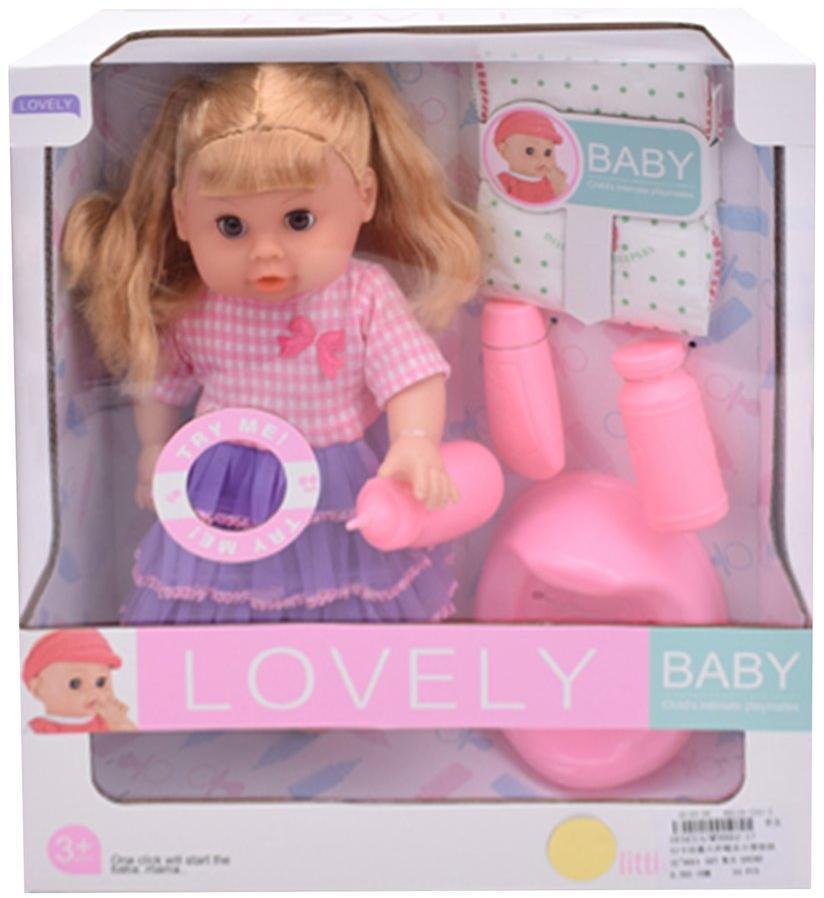 """Функциональная кукла """"Мой малыш"""", 30 см (звук, пьет, писает)"""