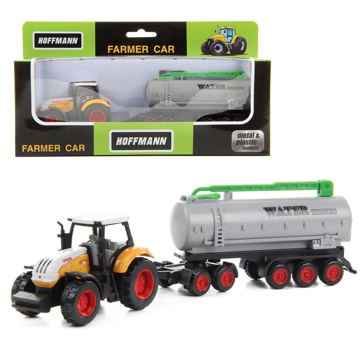 Металлический трактор, 1:72