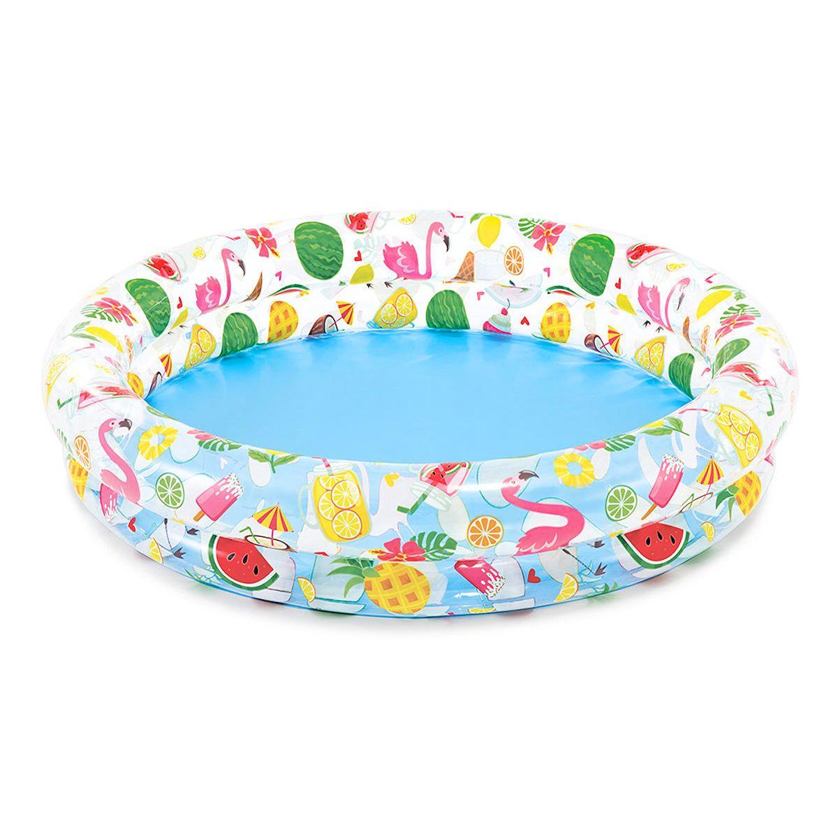 """Детский надувной бассейн """"Фрукты"""", 122 х 122 см"""
