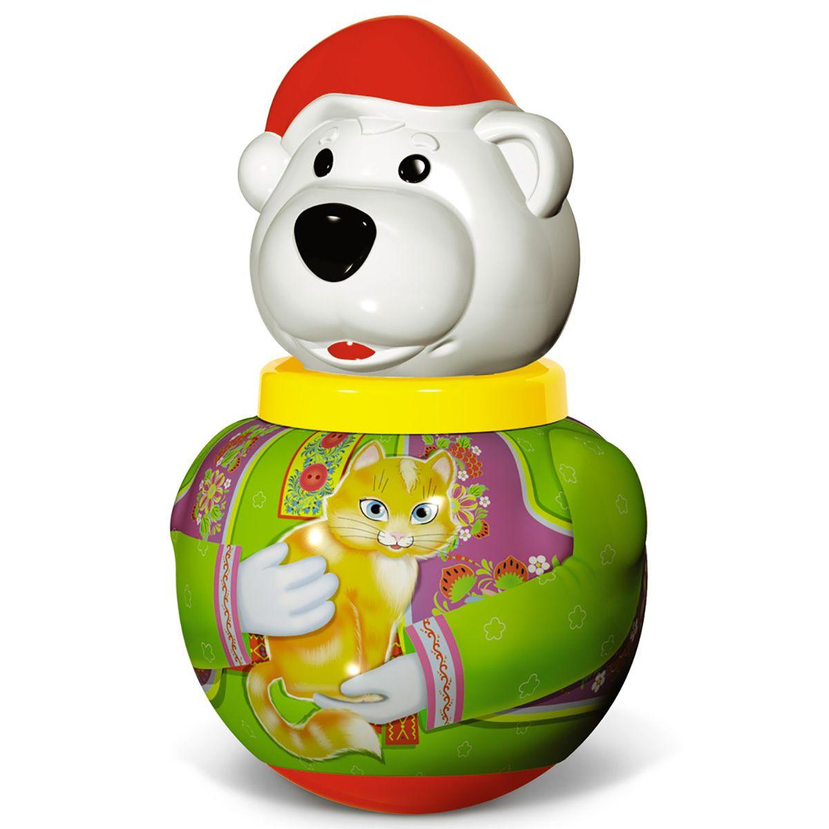 "Неваляшка малая ""Белый медведь Борис"""