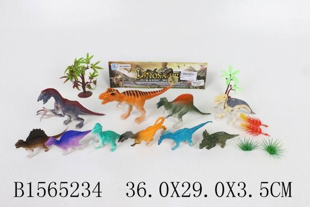 """Набор """"Динозавры"""", в/п 36*29*3,5 см."""