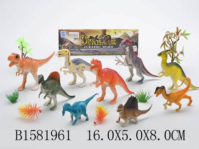 """Набор """"Динозавры"""", в/п 16*5*8 см."""