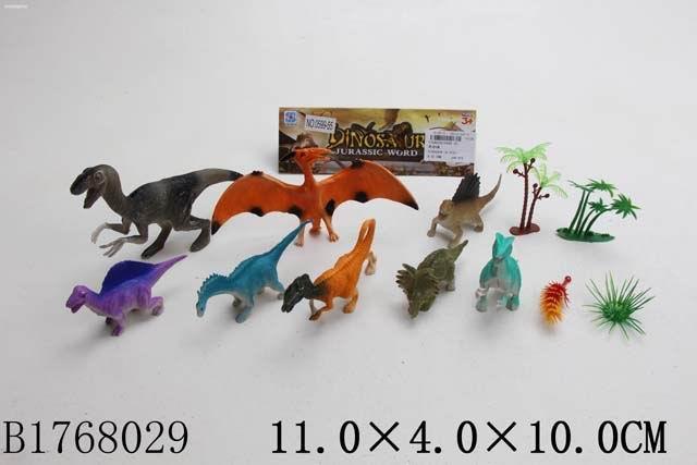 """Набор """"Динозавры"""", в/п 11*4*10 см."""