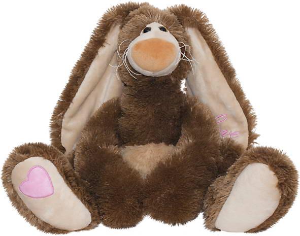 """Мягкая игрушка """"Зайчик счастливчик"""", 30 см"""