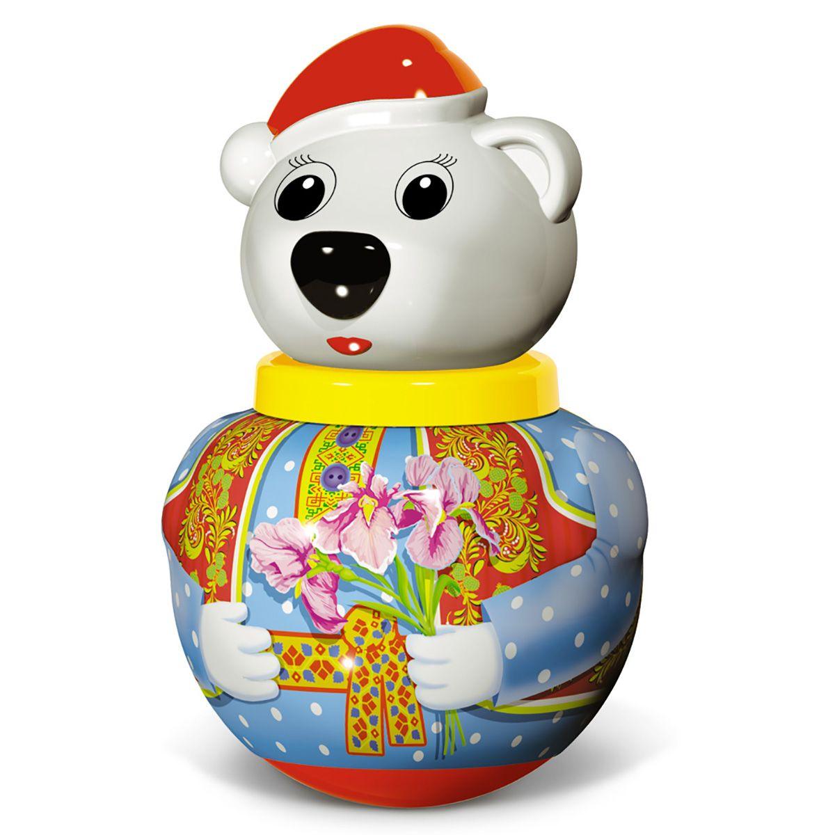 "Неваляшка малая ""Белый медведь Тёма"""