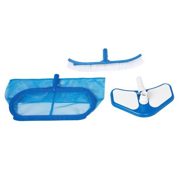 Набор для чистки бассейна DELUXE (сачок/щетка/вакуум.насадка )