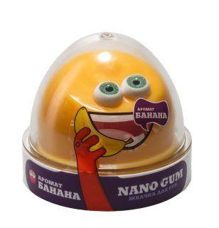 Жвачка для рук Nano gum, с ароматом банана, 50 гр.