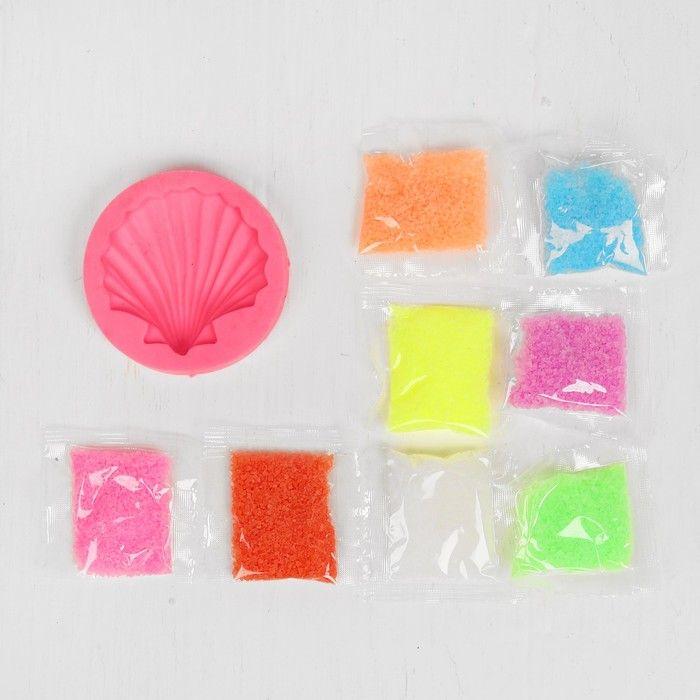 """Набор для творчества """"Магический песок - создай гребешок"""" 8 цветов,"""