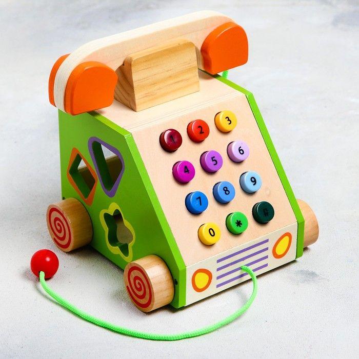 """Логический центр """"Телефон"""" 18,8х19,8х18 см, в пакете"""