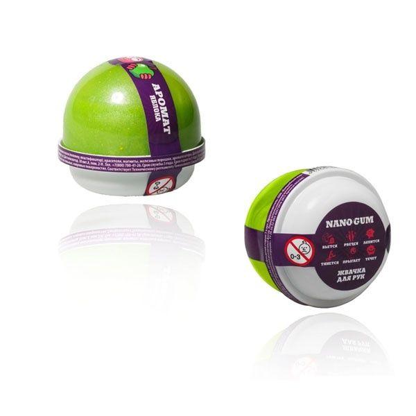 Жвачка для рук NanoGum - Аромат яблока, 25 гр.