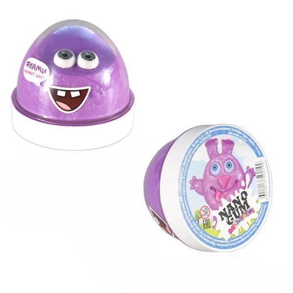 """Жвачка для рук Nano Gum """"Monsters"""" - Флами (меняет цвет), 50 гр."""