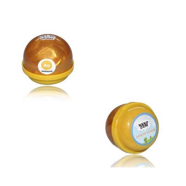 Жвачка для рук Nano Gum - Золото инков, металлик, 25 гр.