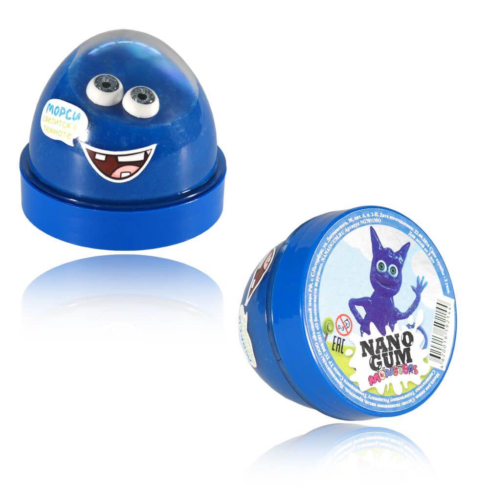 Жвачка для рук Nano Gum - Морси (светится в темноте), 50 гр.