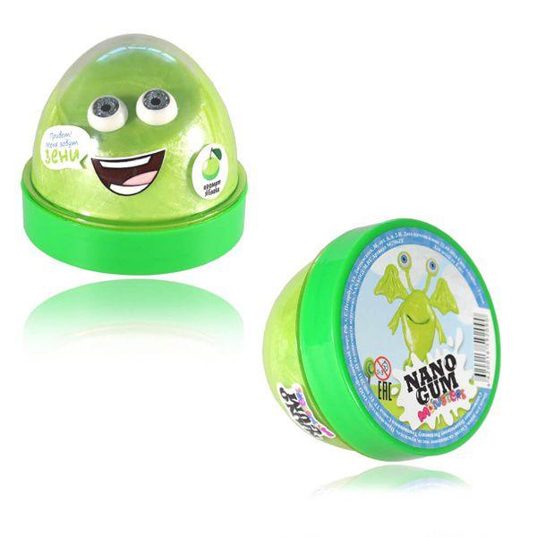 Жвачка для рук NanoGum Monsters - Зени (аромат яблока), 50 гр.
