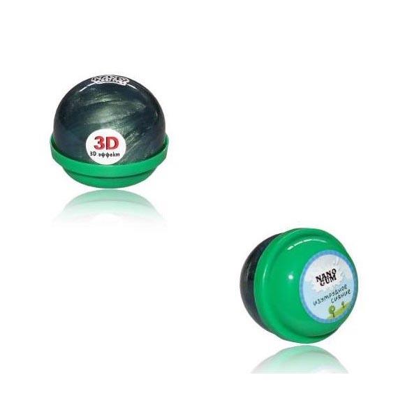 Жвачка для рук Nano Gum - Изумрудное сияние (с 3D-эффектом), 25 гр.