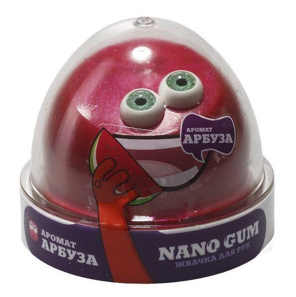 Жвачка для рук NanoGum - Аромат арбуза, 50 гр.
