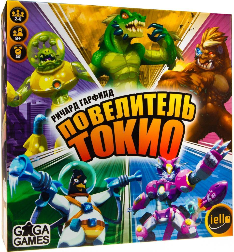 Настольная игра GAGA GAMES GG072 Повелитель Токио (King of Tokyo)