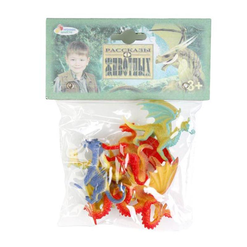 """Игровой набор """"Рассказы о животных"""" - Динозавры, 8 шт."""