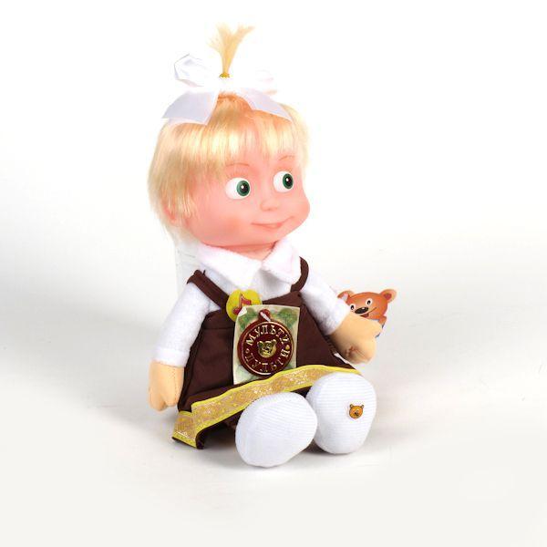 """Мягкая кукла """"Маша"""" (5 фраз, песенка)"""
