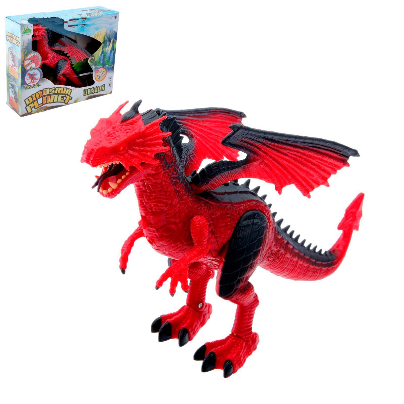"""Фигурка """"Динозавр"""" - Дракон (свет, звук)"""
