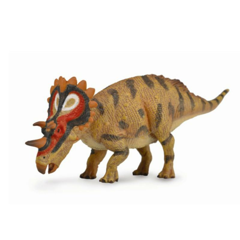 """Коллекционная фигурка динозавра """"Регалицератопс"""", длина 12.3 см"""