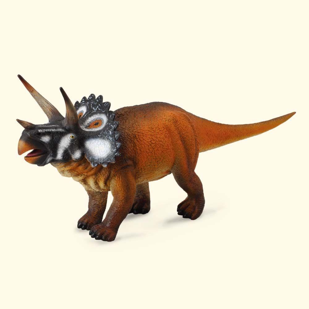 "Фигурка динозавра ""Трицератопс"", длина 29 см"