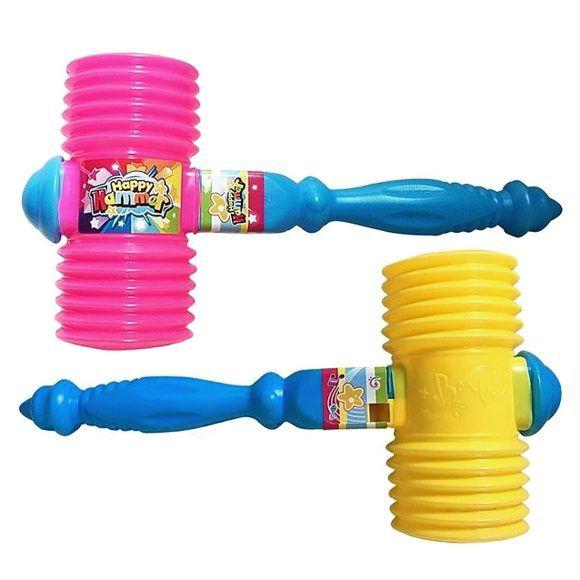"""Резиновая игрушка """"Молоточек"""" с фигурной ручкой, 21 см"""