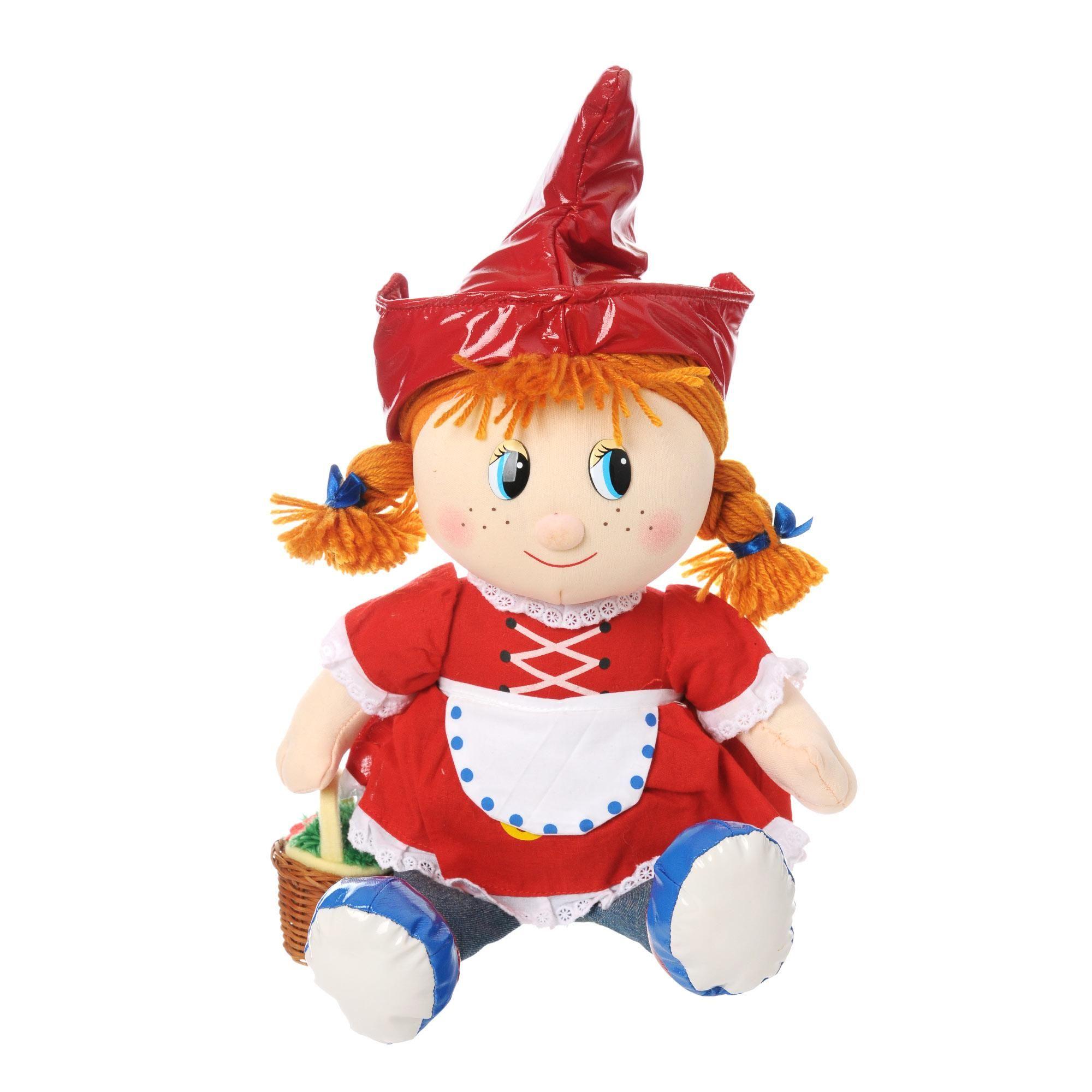 "Мягкая игрушка ""Красная шапочка"", 29 см (звук)"