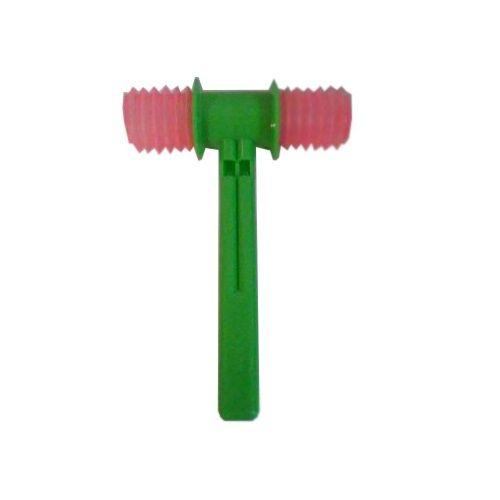 """Музыкальная игрушка """"Молоток"""", зелено-розовая"""