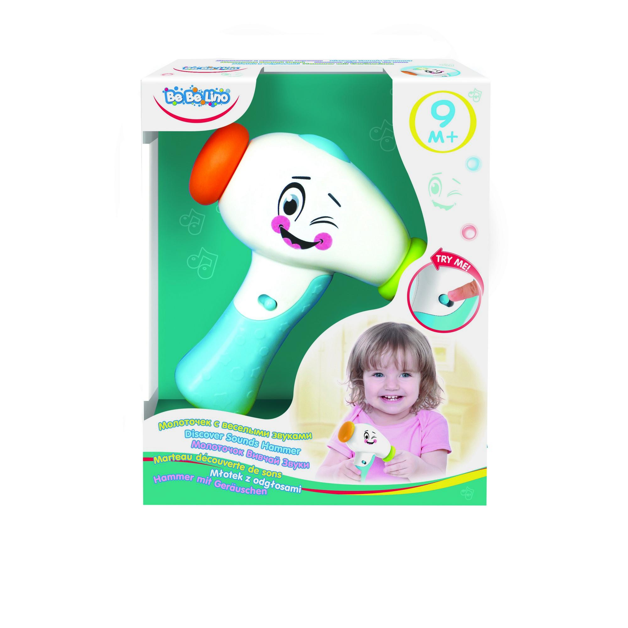 Интерактивная игрушка Bebelino «Молоточек с веселыми звуками»