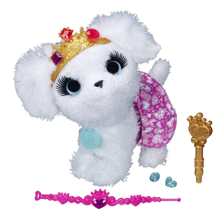 """Модные зверята Furreal Friends """"Белый щенок-принцесса"""" (звук)"""