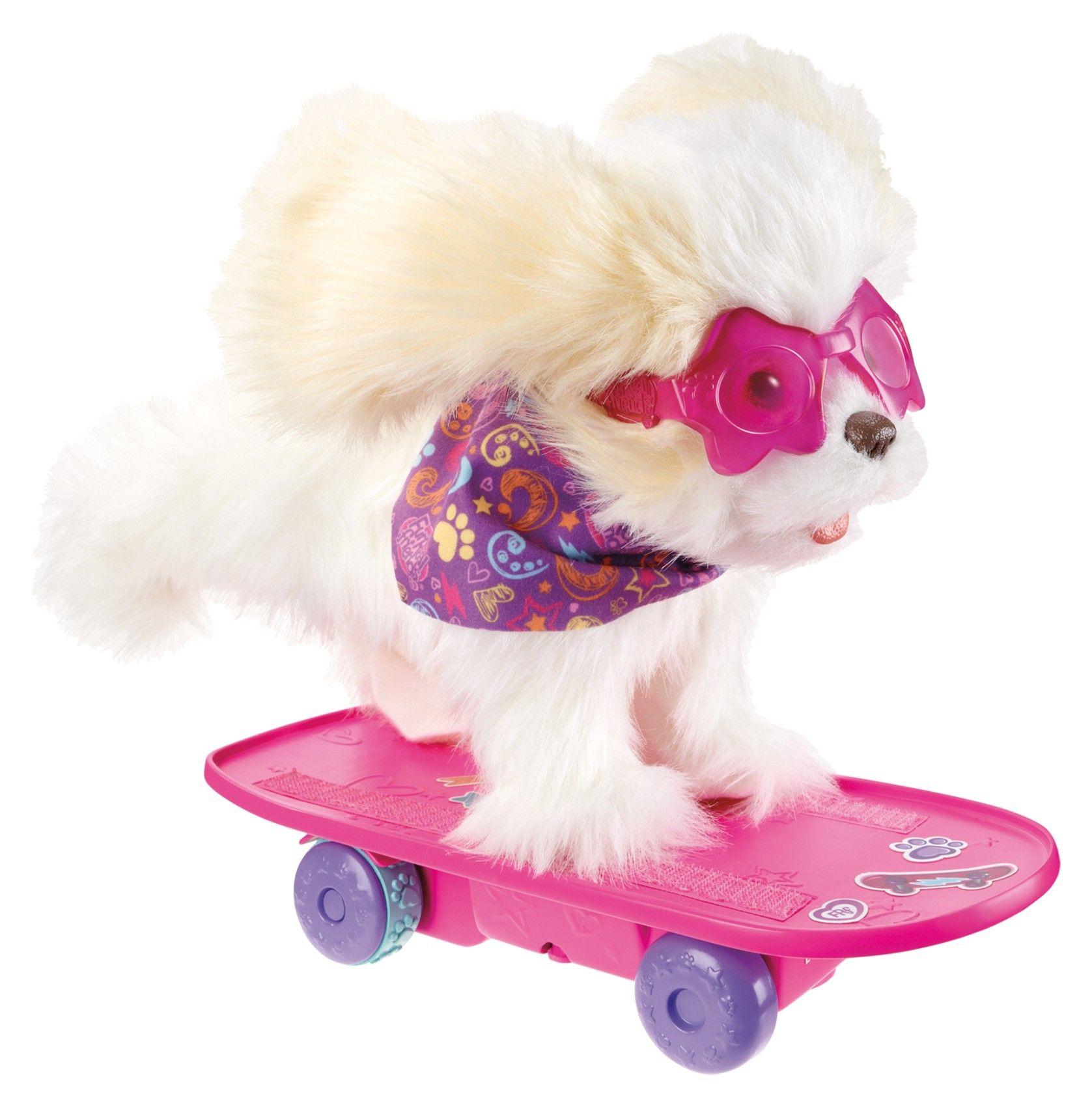 Игрушка р/у FurReal Friends - Собака Трикси на скейтборде