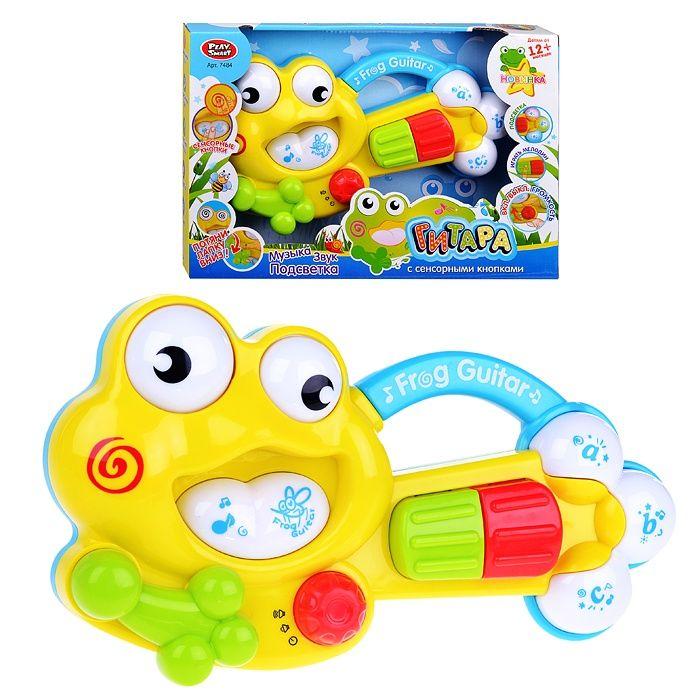 """Интерактивная игрушка """"Гитара"""" - Frog Guitar (свет, звук)"""