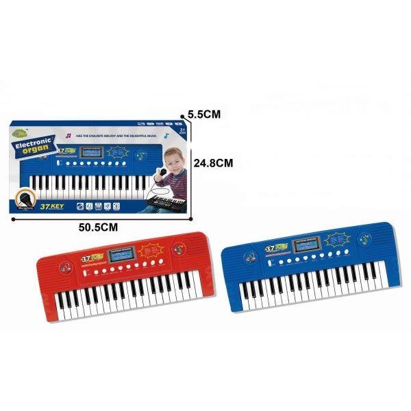 Музыкальный инструмент Elecknronic organ с микрофоном