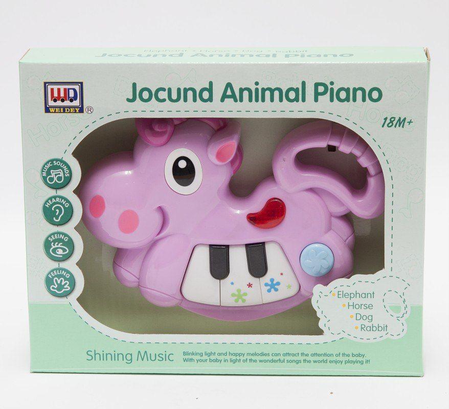 """Музыкальная игрушка """"Пианино"""" - Корова"""