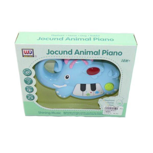 "Игрушка ""Пианино-слон"" (свет, звук)"