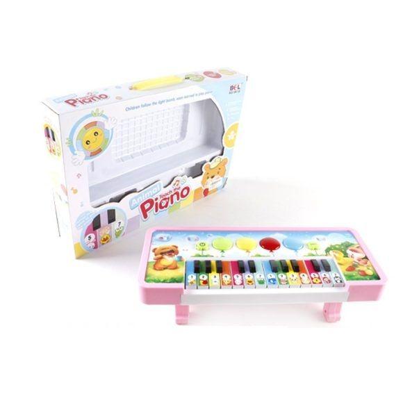 "Детское пианино ""Зоопарк"" (на бат., звук), 24 клавиши"