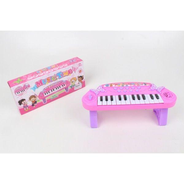 Детское электропианино Music Time (свет, звук)