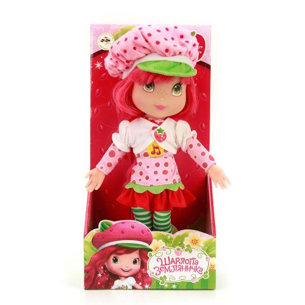 "Мягкая кукла ""Шарлотта Земляничка"" (звук), 30 см"