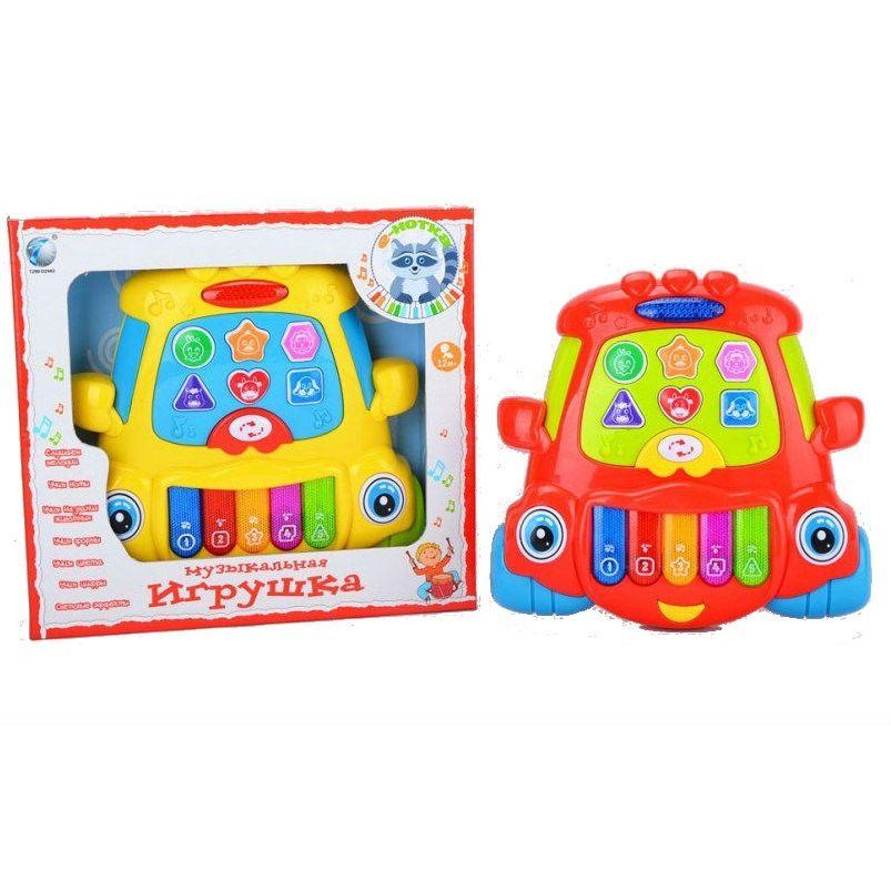 """Музыкальная игрушка """"Е-Нотка"""" - Пианино (свет)"""