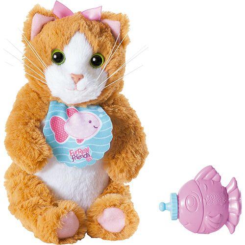 """Интерактивная игрушка FurReal Friends """"Котенок с рыбкой"""" (звук)"""