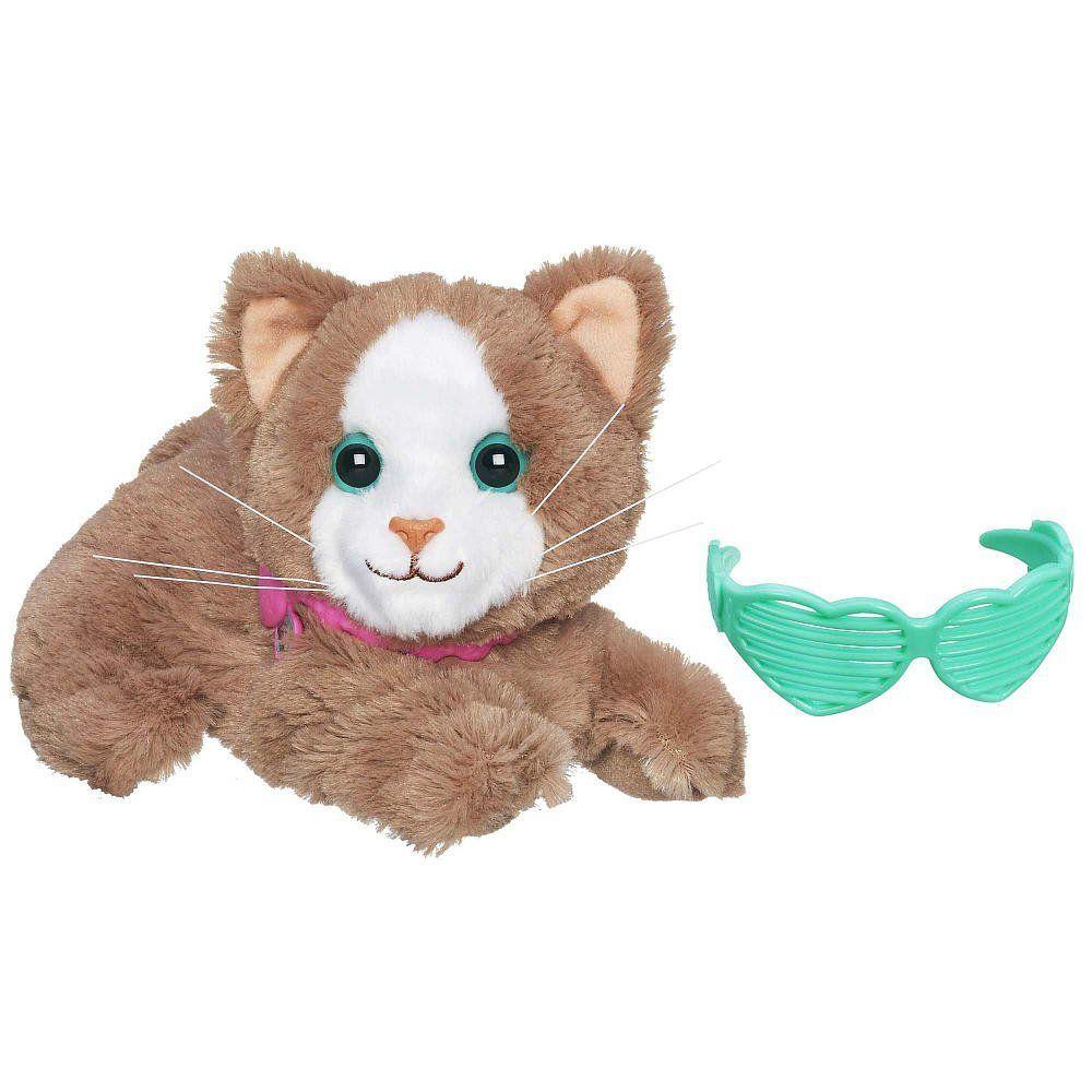 """Мягкая игрушка FurReal Friends """"Модные зверята"""" - Кошечка с очками"""