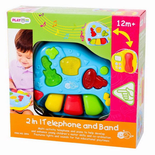 Центр развивающий. Телефон и оркестр.