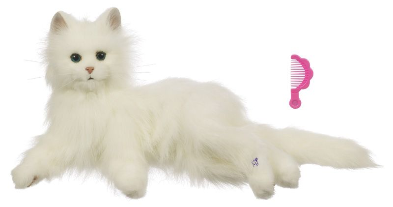 Интерактивная кошка Лулу FurReal Friends - Лулу, белая
